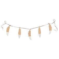 Achat Objet décoration Guirlande Feathers Pure Line - blanc