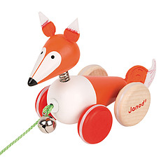 Achat Mes premiers jouets Renard à Promener Zigolos