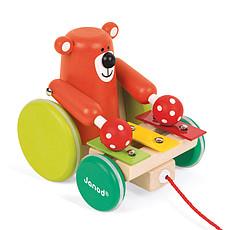 Achat Mes premiers jouets Ours Xylo à Promener Zigolos