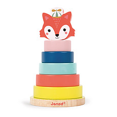 Achat Mes premiers jouets Jeu Empilable Renard - Baby Forest