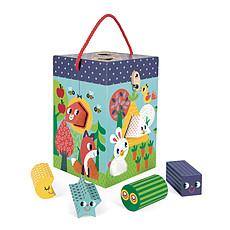 Achat Mes premiers jouets Boîte à Formes et Matières Jardin