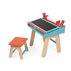 Achat Table & Chaise Bureau d'Ecolier - Orange / Bleu