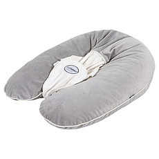 Achat Coussin allaitement Coussin d'allaitement Multirelax + ® - Soft Boa Gris/Ecru