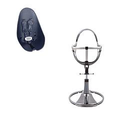 Achat Chaise haute Chaise-Haute Fresco Mercury + Assise Bleu Marine