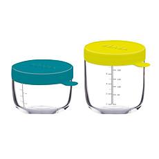 Achat Vaisselle & Couvert Coffret de 2 Portions Verre 150/250 ml