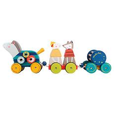 """Achat Mes premiers jouets Cheval d'Activités à tirer """"Les Zig et Zag"""""""