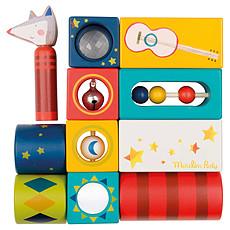 """Achat Mes premiers jouets Cubes d'Activités """"Les Zig et Zag"""""""