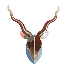 Achat Objet décoration Trophée Antilope