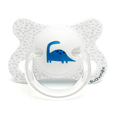 Achat Sucette Sucette Fusion Physio Silicone Dino - 2/4 mois Blanc Total Look