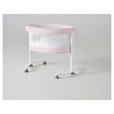 Achat Lit bébé Berceau Smart Fresh - Blanc/Rose motif Ourson