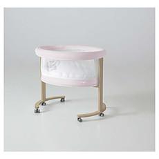 Achat Lit bébé Berceau Smart Fresh - Naturel/Rose motif Ourson