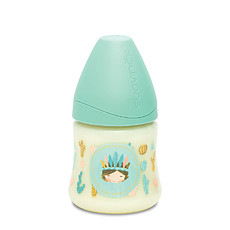 Achat Biberon Biberon 150 ml Indien Silicone Rond 3 Vitesses Turquoise Total Look