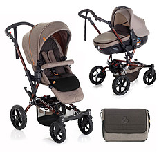 "Achat Poussette combinée Poussette Duo Crosswalk + Matrix Light 2 - ""Terrain"""