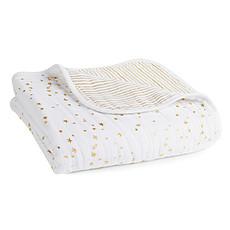 Achat Linge de lit Couverture de rêve Metallic Gold