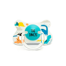 Achat Sucette Sucette Fusion Physio Silicone Dino 4/18 mois Total Look
