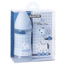 Achat Biberon Pack Scottish Bleu - 270 ml