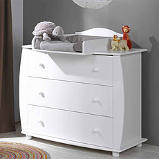 Achat Commode Commode Médéa Blanc