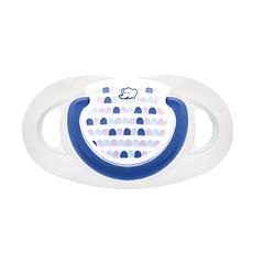 Achat Sucette Sucette Silicone Dental Safe 0/6 mois - Bleu - Lot de 2