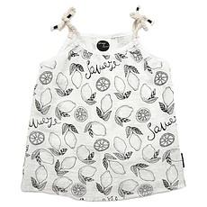 Achat Hauts bébé Top à Bretelles Motif Fruits - Blanc - 18 mois