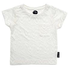 Achat Vêtement layette T-shirt Motif Afrique - Blanc