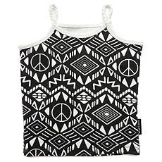 Achat Vêtement layette Top à Bretelles Motif Afrique - Noir