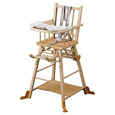 Achat Chaise haute Chaise-Haute à Barreaux / Transformable Marcel