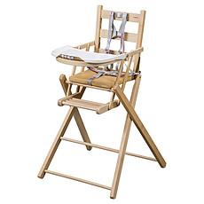 Achat Chaise haute Chaise Haute Extra-Pliante Sarah - Naturel