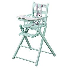 Achat Chaise haute Chaise-Haute Extra-Pliante Sarah - laqué vert mint