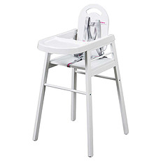Achat Chaise haute Chaise Haute Fixe Lili - Blanc