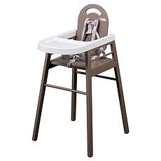 Achat Chaise haute Chaise Haute Fixe Lili - Taupe