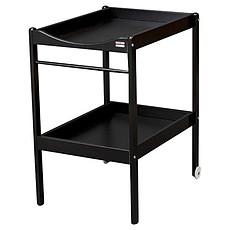 Achat Table à langer Table à Langer 2 Plateaux Alice - laqué noir