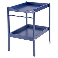 Achat Table à langer Table à Langer 2 Plateaux Alice - laqué bleu