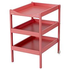Achat Table à langer Table à Langer 3 Plateaux Susie - laqué rose