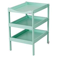 Achat Table à langer Table à Langer 3 Plateaux Susie - laqué vert mint