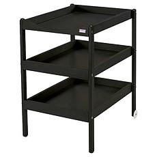 Achat Table à langer Table à Langer 3 Plateaux Susie - laqué noir