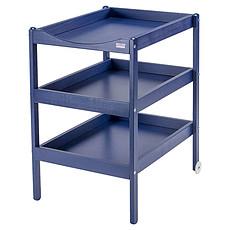 Achat Table à langer Table à Langer 3 Plateaux Susie - laqué bleu
