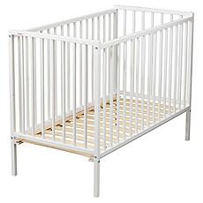 Achat Lit bébé Lit Bébé Rémi 60 x 120 cm - Laqué blanc