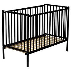 Achat Lit bébé Lit Bébé Rémi 60 x 120 cm - Laqué noir