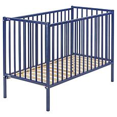Achat Lit bébé Lit Bébé Rémi 60 x 120 cm - Laqué bleu