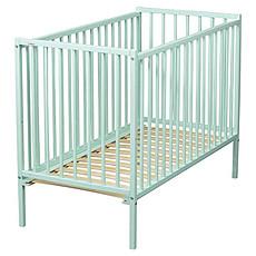 Achat Lit bébé Lit Bébé Rémi 60 x 120 cm - Laqué vert mint