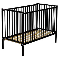 Achat Lit bébé Lit Bébé Rémi 70 x 140 cm - Laqué noir