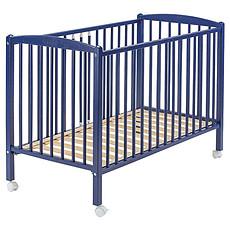 Achat Lit bébé Lit Bébé Arthur 60 x 120 cm - Laqué bleu