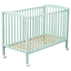 Achat Lit bébé Lit Bébé Arthur 60 x 120 cm - Laqué vert mint