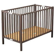 Achat Lit bébé Lit Bébé Pliant Roméo 60 x 120 cm - laqué taupe