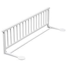 Achat Barrière de sécurité Barrière de lit pliante - laqué blanc