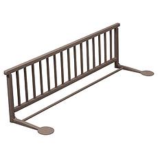 Achat Barrière de sécurité Barrière de lit pliante - laqué taupe