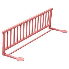 Achat Barrière de sécurité Barrière de lit pliante - laqué rose