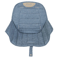 Achat Chaise haute Assise Ovo - Jeans
