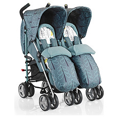 Achat Poussette multiple Poussette Canne Double To & Fro Duo - Fjord