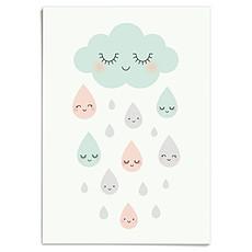 Achat Affiche & poster Affiche Douce Pluie